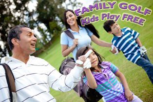 family golfing text_web