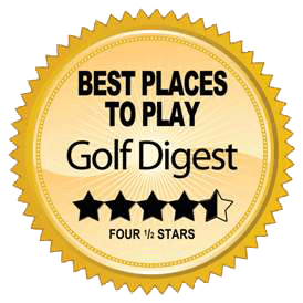 golf digest 4.5 stars badge